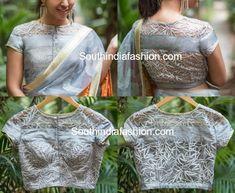 net blouse designs 600x492