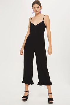 efc4687ad90   Frill Hem Camisole Jumpsuit by Nobody s Child Playsuit