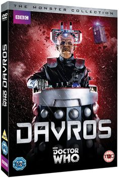 Doctor Who The Monster Collection Davros DVD