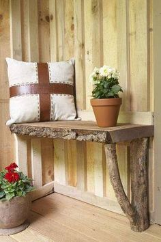 Outdoor garden potting bench!