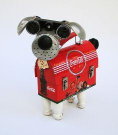 Coca-dog - By Bill McKenney Bills Retro Robots