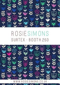print & pattern: SURTEX 2014 - flyers part two
