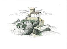 Il castello dell'Innominato. Marco Lorenzetti.