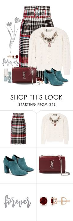 """Love Song"" by jacque-reid ❤ liked on Polyvore featuring Oscar de la Renta, Gucci, WtR, Yves Saint Laurent, Futuro Remoto and Paul & Joe"