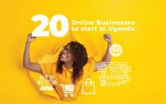 Uganda has been slow to embrace online business, but this is fast changing. Although the possibility of running a business online may sound attractive, success lies in identifying the right business for you. This simple guide shows you the top 20 online business ideas from which you can adopt. Trend News, Digital Trends, Starting A Business, Uganda, Business Ideas, Online Business, Success, Running, Simple