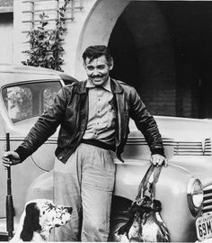 """Clark Gable """"The King of Hollywood""""personal photo album(1940s-1950s)"""