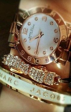 Marc Jacobs Gold Watch - MBM3056 - SavvyWatch.com