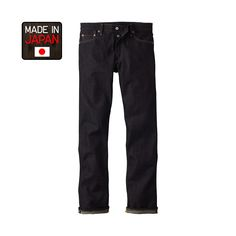 UNIQLO MADE IN JAPAN DENIM REGULAR FIT JEANS ($90)