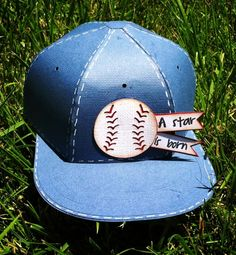 Check out Lisa's Baseball Cap!  Everyone will love this one!  It's a real box you can fill with a special gift and give to the sports fan or little guy in your life!  Lisa opted for a baseball element and a really cute sentiment but you can add a team logo and customize the colors to match making it look like a real team cap!  What a fabulous unique shape, really easy to make!  Look for it in FUN AND GAMES SVG KIT!