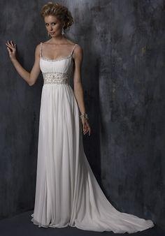 Stunning Strapless Cheap Modest Simple Beach Wedding Dresses/Bridal Dress weddingdresses00533 - Weddingdressgood.com