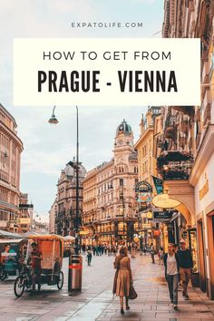 If you plan to visit Vienna after your trip to Prague, check out this guide. You'll know useful information about traveling from Prague to Vienna by flight, train, and bus, including timetable, ticket prices, and tips. Europe Travel Guide, Voyage Europe, Travel Guides, Backpacking Europe, Travel Hacks, Europe Packing, Packing Lists, Travel Deals, Travel Packing