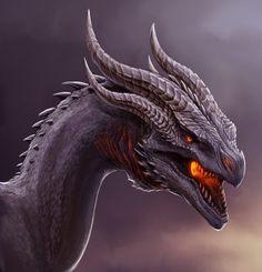 Dragon. by TatianaMakeeva on DeviantArt. Shruiken/Alduin