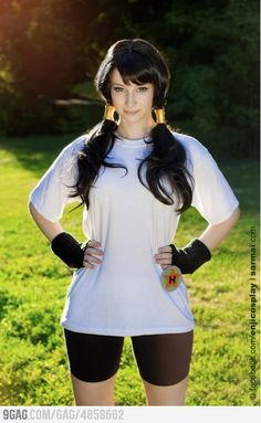 Enji playing as Videl in Dragon Ball - COSPLAY IS BAEEE! Tap the pin now to grab yourself some BAE Cosplay leggings and shirts! From super hero fitness leggings, super hero fitness shirts, and so much more that wil make you say YASSS! Cosplay Anime, Videl Cosplay, Epic Cosplay, Cute Cosplay, Amazing Cosplay, Halloween Cosplay, Cosplay Girls, Female Cosplay, Naruto Cosplay