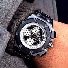 What are your thoughts on this Audemar Piguet Rubens Barrichello? Personally I think it's super cool. #audemar #piguet