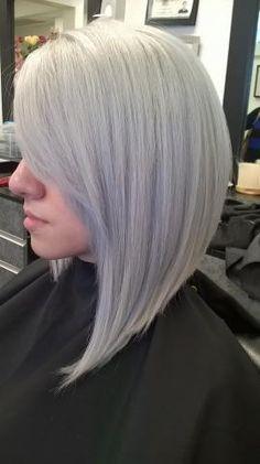 FORMULA: Modern Silver | Modern Salon #silverhair