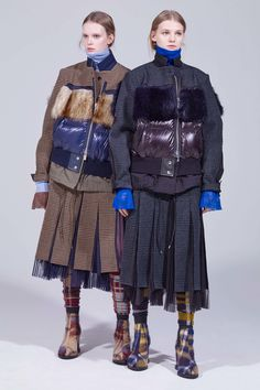Sacai Pre-Fall 2018 Fashion Show Collection