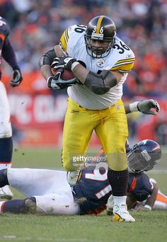 Steelers' Jerome Bettis during the 2006 AFC Championship