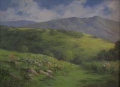 Artist Rodney Laughon Oil Painting of the Appalachian Trail