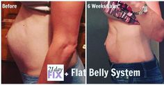 The difference a few weeks of focus can make. Click for help. #DiastasisRecti #FlatBellySystem