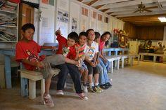 Kids at Corazon's classroom in Mexico! #nonprofit #charity #corazon