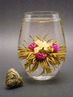 Blooming Tea - I wonder if it tastes as good as it looks? One to try!