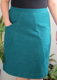 Finally writing about my Blueprints for Sewing A-frame skirt ! Spoiler: I am delighted with it...