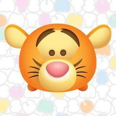 Image about love in 😃tsum tsum ≧v≦○ by vivian ♪ Tsum Tsum Toys, Tsum Tsum Party, Tsum Tsum Characters, Disney Tsum Tsum, Tsum Tsum Wallpaper, Disney Wallpaper, Cute Disney, Baby Disney, Tigger Disney