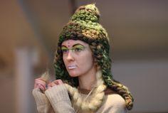 NYFW...LOVE a chunky knit cap