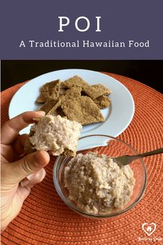 Poi: A Traditional Hawaiian Recipe for Fermented Taro Root. Poi is a great first food for baby as it is easily digestible from the fermentation. Poi Hawaiian Recipe, Hawaiin Food, Hawaiian Recipes, Veggie Recipes Healthy, Baby Food Recipes, Traditional Hawaiian Food, Taro Recipes, Taro Root, Hawaiian