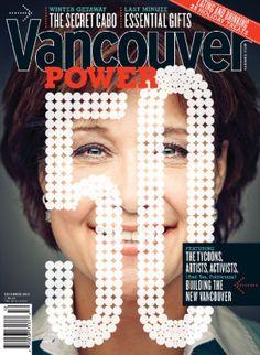 Vancouver Magazine cover