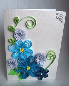 Quilling Easter Cards (1) - Felicitari de Paste  Here , are the first greeting cards.I hope you like it.I am looking forward to share...