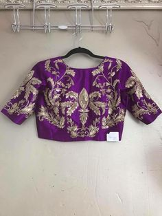 Order contact my whatsapp number 7874133176 Kids Blouse Designs, Fancy Blouse Designs, Bridal Blouse Designs, Churidar, Anarkali, Lehenga, Stylish Blouse Design, Collor, Indian Designer Outfits