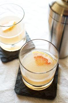 Grapefruit + Lillet Cocktail — Pixels + Crumbs