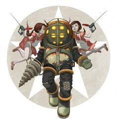 Bioshock - Big Daddy & Little Sisters