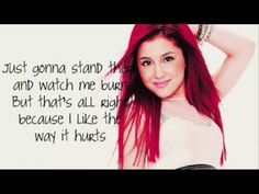 Ariana Grande - Love The Way You Lie I love this cover #JustGonnaStandThereAndWatchMeBurn
