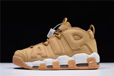 2a031908df Buy Nike Air More Uptempo Mens Basketball Shoes For Sale Wheat White