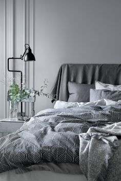 Use our comfy bed linen, classic curtains and decorations to create a space for rest, relaxtion and sweet dreams – shop everything for the bedroom! Home Bedroom, Modern Bedroom, Bedroom Decor, Bedroom Ideas, Stylish Bedroom, Small Bedrooms, Bedroom Inspiration, Design Bedroom, Duvet Sets