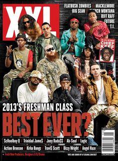 XXL Freshman Class 2013 Cover