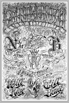 Lettermen Poster by Norm from Letters To Live By