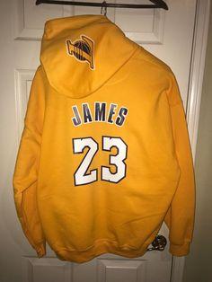 cd1de07ba77 LA Los Angeles Lakers Lebron James Home Jersey Hoodie Hoody Hooded  Sweatshirt #sports #basketball #trending