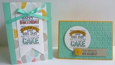 Using Stampin' Up! 'A Big Day' stamp set from Sale-A-Bration https://astampingjourney.wordpress.com/2015/01/15/sale-a-bration-big-day/