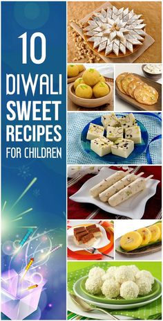 10 Delicious Diwali Sweet Recipes For Children Do you want to surprise you tot with his favorite treats this Diwali? Check out our list of Diwali sweets recipes for children to make! Indian Desserts, Indian Sweets, Indian Snacks, Indian Recipes, Vegan Desserts, Diwali Snacks, Diwali Food, Diwali Recipes, Holiday Recipes