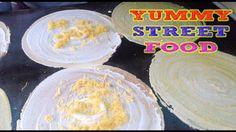 Asian Street Food | Cambodian Food-rice cake, pancake,donut,fried potato...