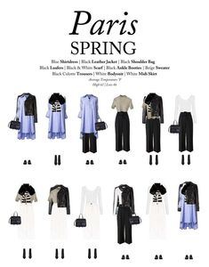 What to wear to Paris, France in the Spring by Outfits for Travel. This guide shows you how to style 10 pieces into 12 chic outfits for Paris in the spring. Pack it up for the perfect spring outfits for Paris, France. Paris Spring Outfit, Paris Outfits, Chic Outfits, Travel Packing, Spring Outfits Travel, Paris In Spring, Travel Capsule, Travel Wear, Parisienne Chic
