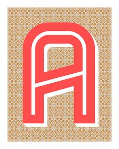 Hey, I found this really awesome Etsy listing at https://www.etsy.com/listing/128347515/the-letter-a-original-art-print