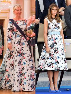 Princess Marie Chantal of Greece & First Lady Melania Trump - TownandCountrymag.com