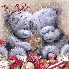 To You Both Me to You Bear Christmas Card  £2.09