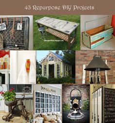 43 Repurposed Projects For Home Decor | Rustic Crafts & Chic Decor