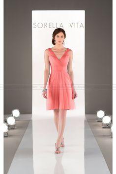 Sorella Vita Tulle Bridesmaid Dress Style 8701