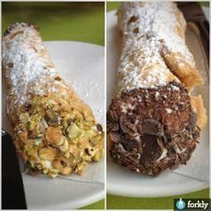 Chocolate & Pistachio Cannoli @ DiFranco's
